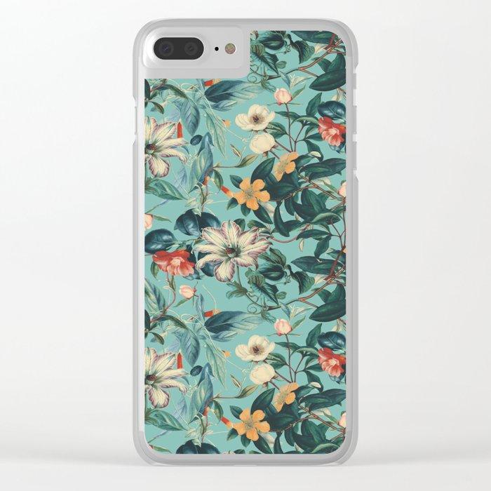 VINTAGE GARDEN V Clear iPhone Case
