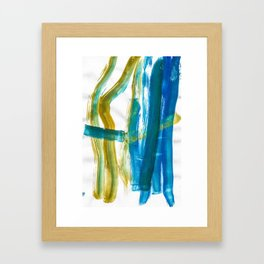 Cohesion Energy Lightroom Watercolor Framed Art Print