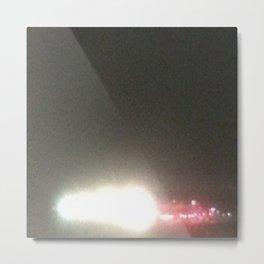 Abstracte Light Art in the Dark 5 Metal Print