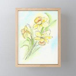 Yearning for Spring Framed Mini Art Print