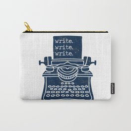 Write Write Write (Space) Carry-All Pouch