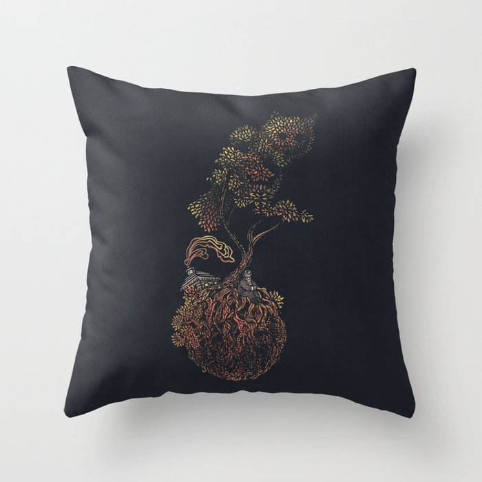 Lonely Planet - colour option  Throw Pillow