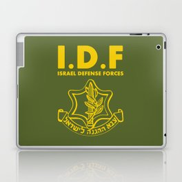 IDF Israel Defense Forces - with Symbol - ENG Laptop & iPad Skin