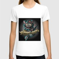 gore T-shirts featuring Chesire cat gore by trevacristina