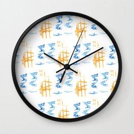 Donovan Print Wall Clock