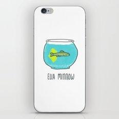 Ella Minnow Accident  iPhone & iPod Skin