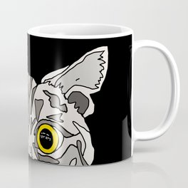 Staring Cat Coffee Mug