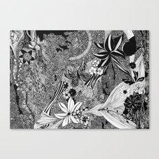 Jungle of Mind Canvas Print