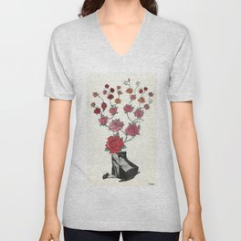 """""""The Daughters of Quiet Minds"""" by Winn Smith Unisex V-Neck"""
