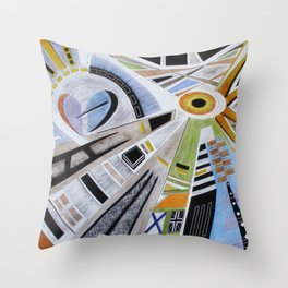 Waking Up: A Journey to Enlightenment Throw Pillow