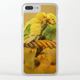Love Byrds Clear iPhone Case