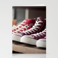 converse Stationery Cards featuring Converse by whitney b