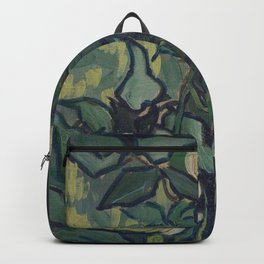 Vincent Van Gogh - Roses and Beetle Backpack