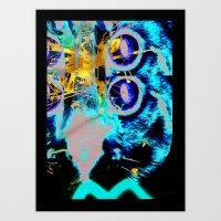 Splatt Art Print