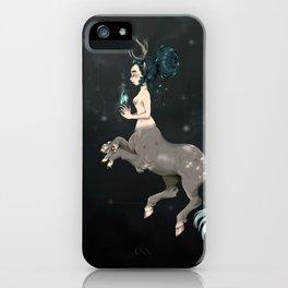Danaë, Hippogriff Centaur iPhone Case
