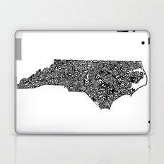 Typographic North Carolina Laptop & iPad Skin