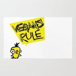 Vegans rule! Rug