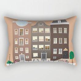 AMSTERDAM poster Rectangular Pillow