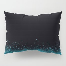 blue glow in dark Pillow Sham