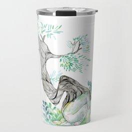 the tree man Travel Mug