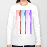 skyline Long Sleeve T-shirts featuring Skyline by Augustina Trejo