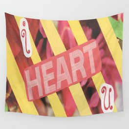 I Heart U. Wall Tapestry