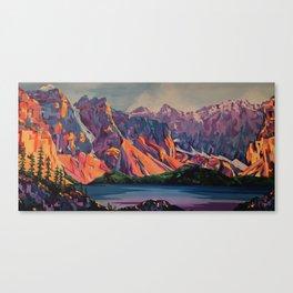 Morraine Lake Canvas Print