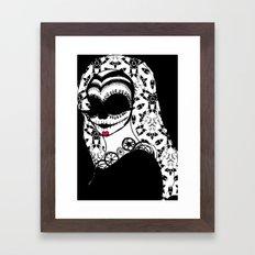 La Novia Muerta Framed Art Print