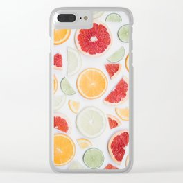 citrus fresh Clear iPhone Case