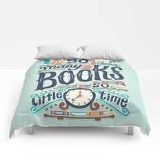 So many books so little time Comforters