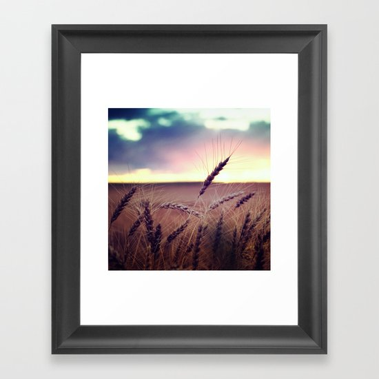 Glide and Sing Framed Art Print