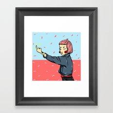 Bad Lilly Framed Art Print