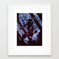castlevania Framed Art Prints featuring Castlevania by ImmarArt