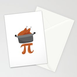 Chicken Pot Pi Stationery Cards