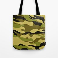 army Tote Bags featuring ARMY by Sophie