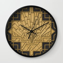 Glamour & Bloom Wall Clock