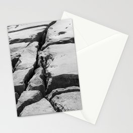 Limestone pavement in the Burren, Ireland Stationery Cards