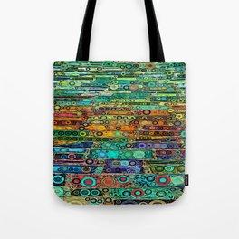 :: Technicolor Walkway :: Tote Bag