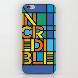 Incredible - Stained Glass iPhone Skin