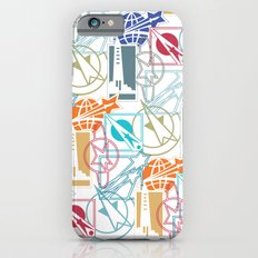 Space Badges iPhone 6s Slim Case