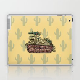 African desert corps tank WWII Laptop & iPad Skin