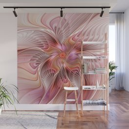 Abstract Butterfly, Fantasy Fractal Wall Mural