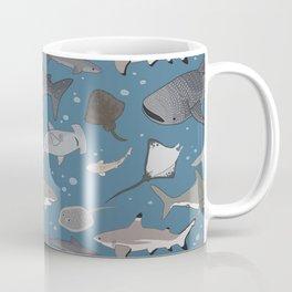 Sharks and Rays Coffee Mug