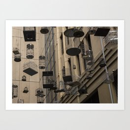 Cages Art Print
