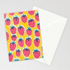 Strawberry Fun Stationery Cards