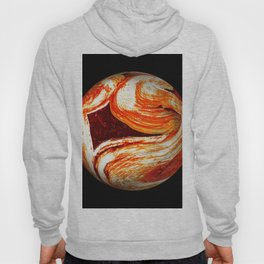 Globe21/For a round heart Hoody