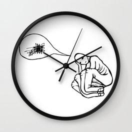 Thinking Hand Wall Clock