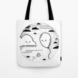 Floaty Love Tote Bag