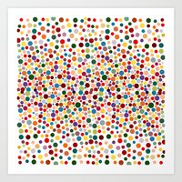 dot Art Prints featuring Dot... by DesignsByMarly