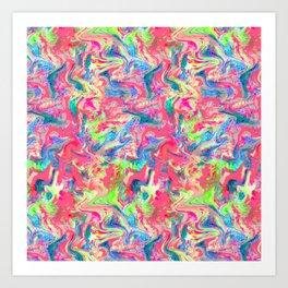 My Pink Marble Art Print